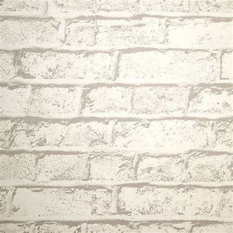 wallpaper for walls john lewis buy house by john lewis brick wall wallpaper putty john