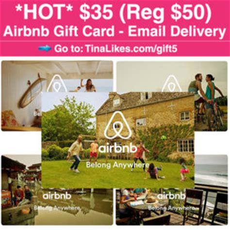 airbnb gift card amazon 35 reg 50 airbnb gift card 12 30 free stuff