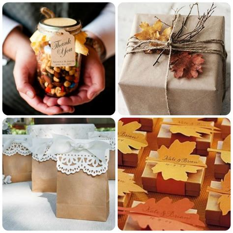 Fall Wedding Favors by Fall Wedding Favors Decoration