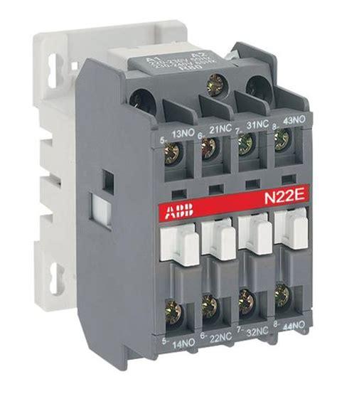 abb contactor 120v coil wiring diagram abb contactor