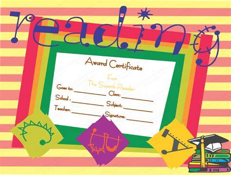 best ereader best reader award certificate template