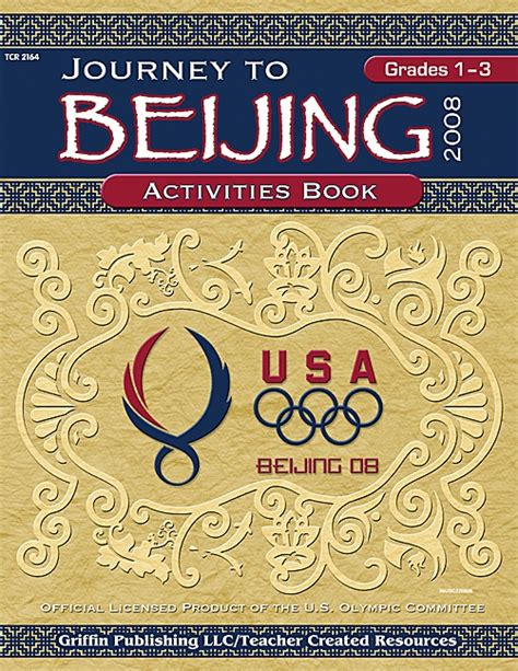 a at history my obsessive journey to olympic gold books journey to beijing grades 1 3 tcr2164 created