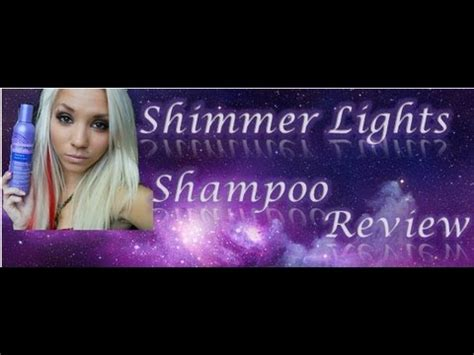 Shimmer Lights Shoo Review by Clairol Shimmer Lights Shoo Review