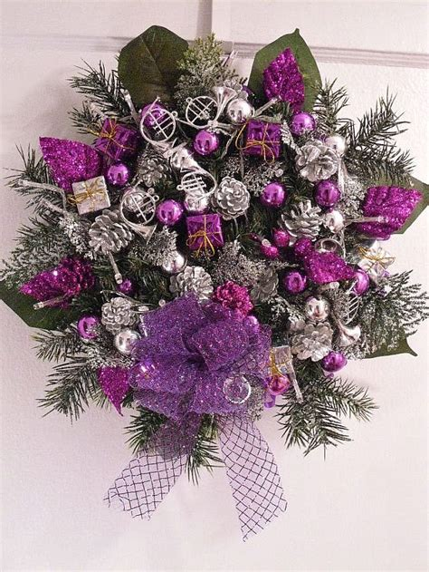 17 best ideas about purple christmas decorations on