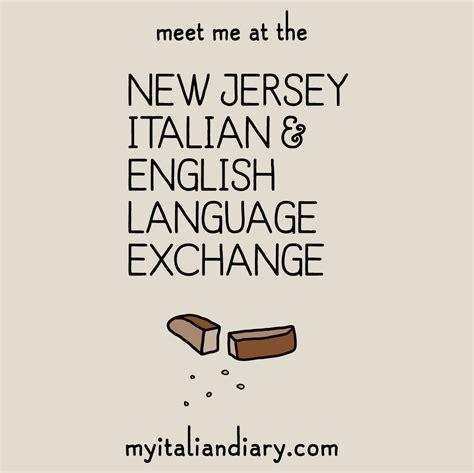 new jersey design exchange nj italian english language exchange official t shirt
