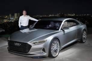 Audi Los Angeles Audi Prologue Concept At The Los Angeles Auto Show
