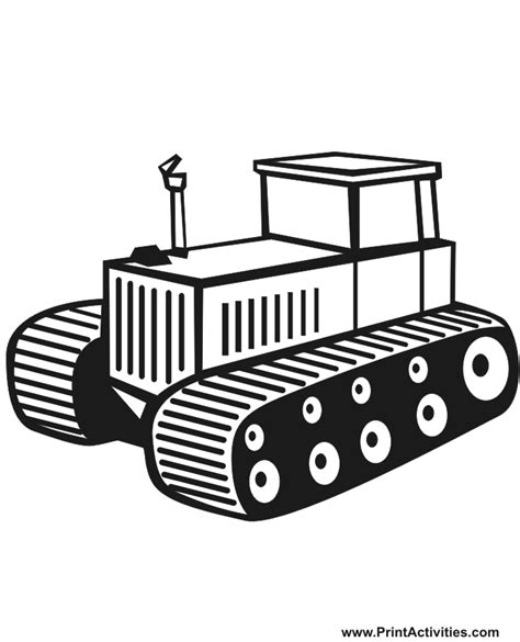 tractor trailer free coloring pages