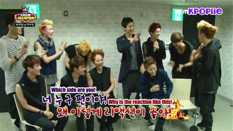 exo variety show eng sub eng sub 130612 exo show chion interview youtube