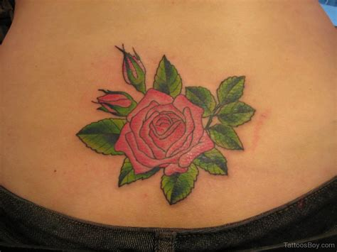 rose hip tattoo ideas stomach tattoos designs pictures page 8