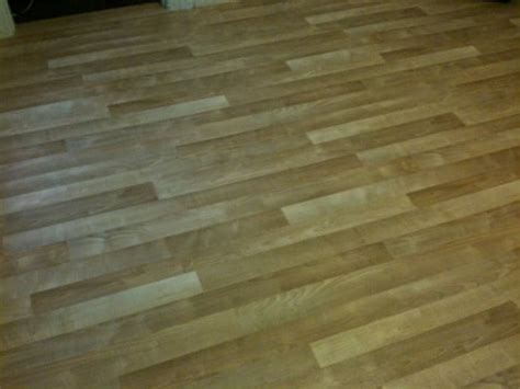 Jem Flooring by Painted And Installed Vinyl Floor Faux Wood Yelp