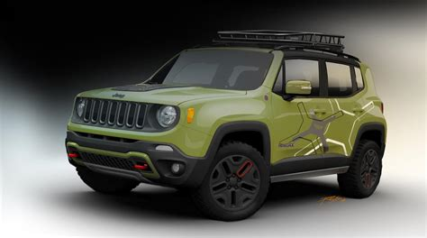 jeep renegade 2015 jeep renegade receives mopar goodies for 2015 detroit