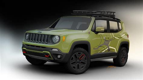 automatic jeep 2015 jeep renegade receives mopar goodies for 2015 detroit