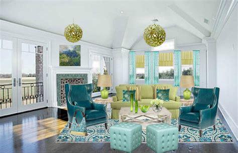 ob blue green  yellow green analogous color scheme