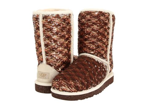 ugg sparkle boots ugg classic sparkle chagne zappos free shipping
