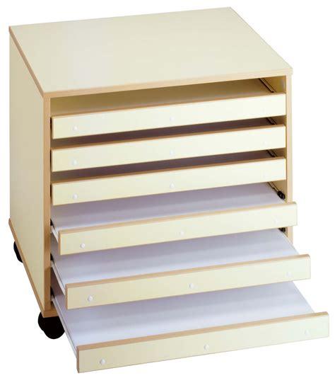meuble rangement dessin meuble papier dessin 6 tiroirs mobilier goz
