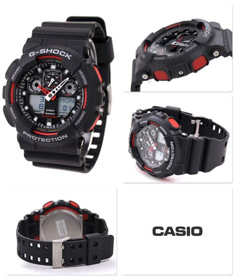 Jam Tangan Casio G Shock Ga 100 1a4dr Original s watches casio g shock ga 100 1a4dr g272 black analog digital was listed for r2