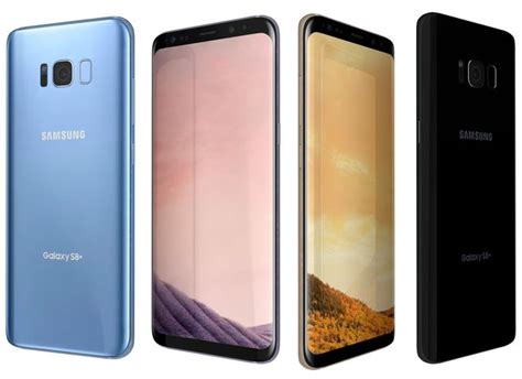 For Galaxy S8 Plus Anymode Berkualitas 3d samsung galaxy s8 plus all colors cgtrader