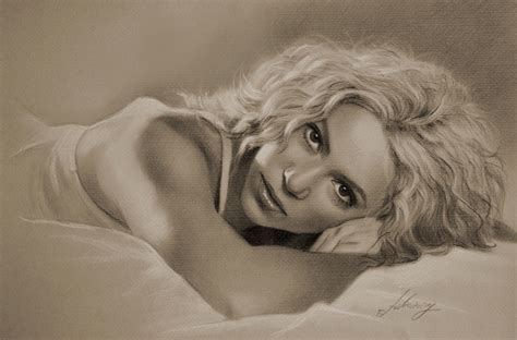 shakira drawing shakira by krzysztof20d on deviantart