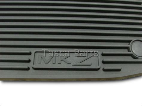 2007 Lincoln Mkz Floor Mats by Brand New Oem Black All Weather Vinyl Rubber Floor Mats