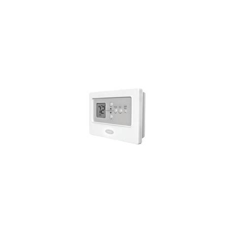 carrier comfort zone thermostat manual carrier non programmable thermostat comfort tc nac tran