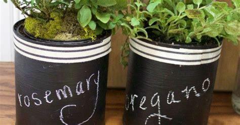 chalk paint jacksonville nc paint can chalkboard herb pots hometalk