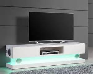 meuble tv eclairage led pas cher