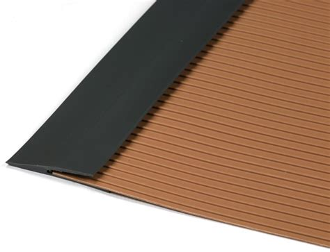 Garage Floor Edge Trim or Center Seam Strip   Canada Mats