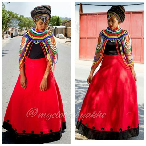 Xhosa Wedding Blessing by Xhosa Traditional Clothing From My Closet By Akho 15