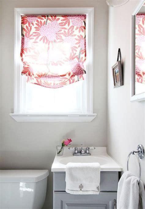how to dress a small bathroom window cortina para banheiro 60 modelos e ideias para a janela