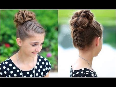 cute girl hairstyles buns youtube back to school long hairstyles for little girls messy