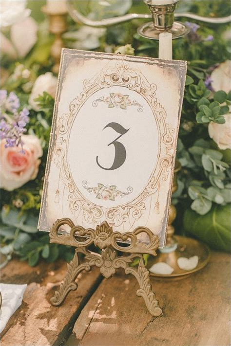 Table Numbers For Weddings by Best 25 Vintage Table Numbers Ideas On