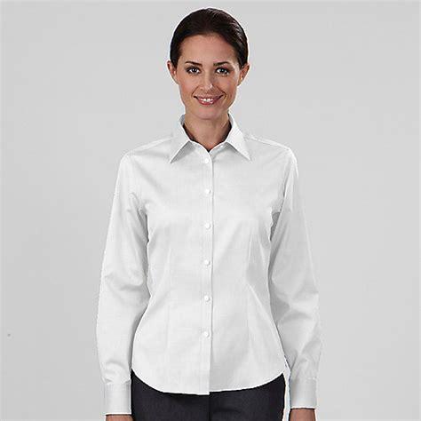 womens dress shirts women s ladies eagle dress shirts 13v0124 non iron 100
