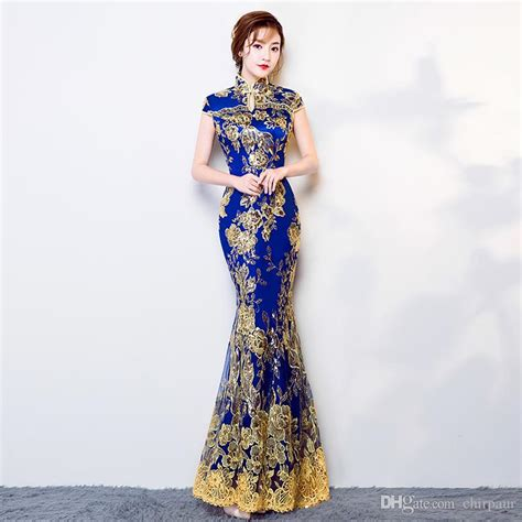 Dress Cheongsam Style 2019 traditional dress cheongsam qipao