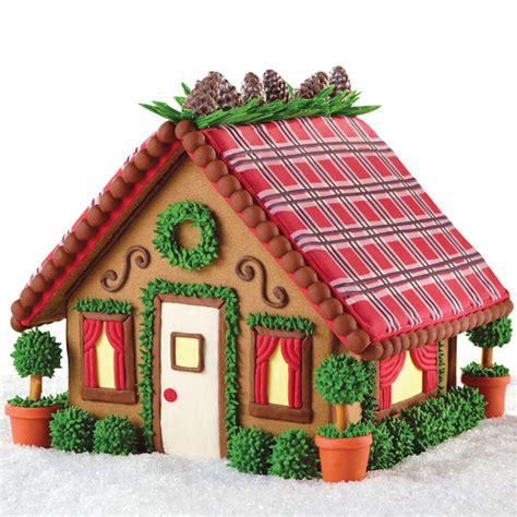 mad  plaid mini mansion gingerbread house
