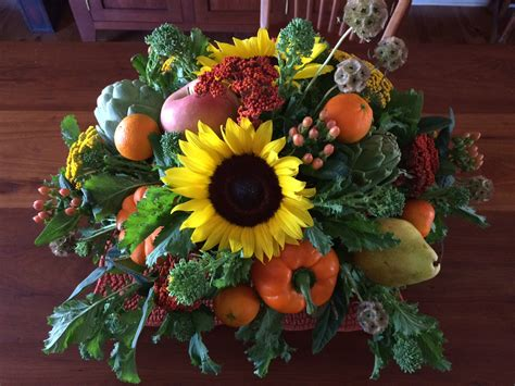 foodhomelifestyle diy thanksgiving harvest centerpiece