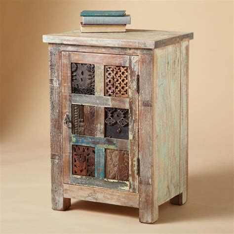 Cabinet Robert by Reclaimed Wood Carved Door Cabinet Robert Redford S