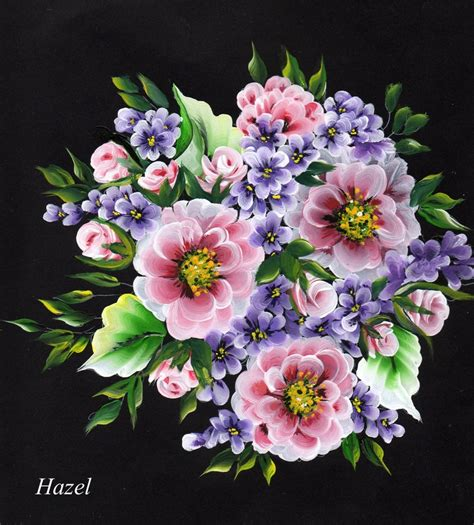 one stroke flowers painting 116 best images about one stroke painted flowers on