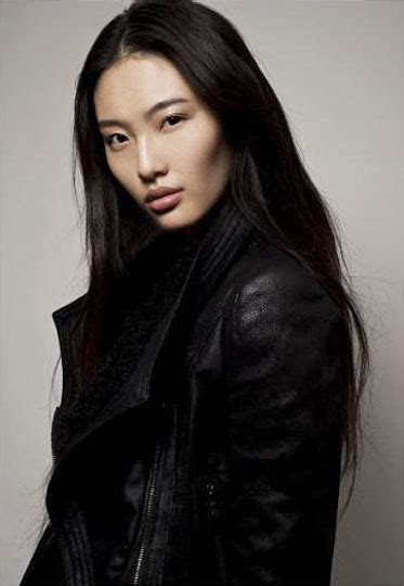 high cheek bones japanese newcomer and chinese model bonnie chen known for being a