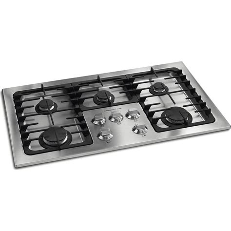 Wolf Drop In Cooktop - electrolux e36gc70fss 36 quot drop in sump gas cooktop