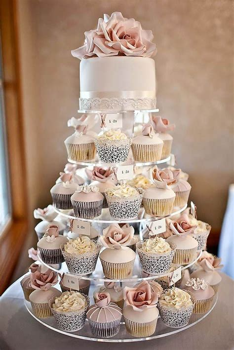 Wedding Cake With Cupcakes by 45 Totally Unique Wedding Cupcake Ideas Unique Weddings