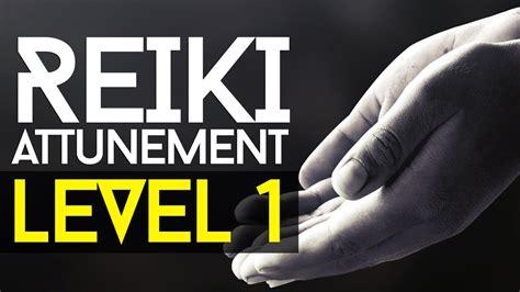 reiki attunement level  learning  basics youtube