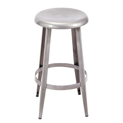 26 Inch Bar Stool Adeco 26 Inch Gunmetal Metal Counter Stool Ch0226 6