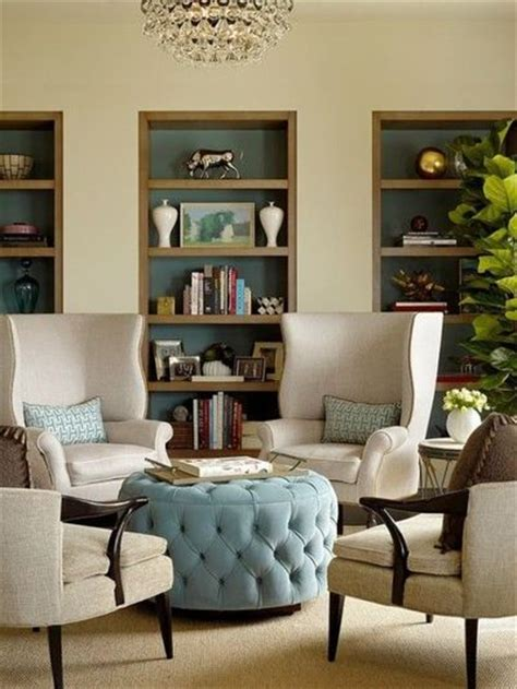 love the layout for a small sitting area or living room