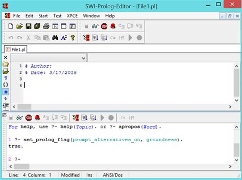 design name editor how to use swi prolog editor ihab abuhilal blog