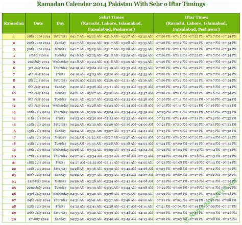 printable ramadan calendar 2015 ramadan 2014 pakistan ramadan calendar 2014 with timings