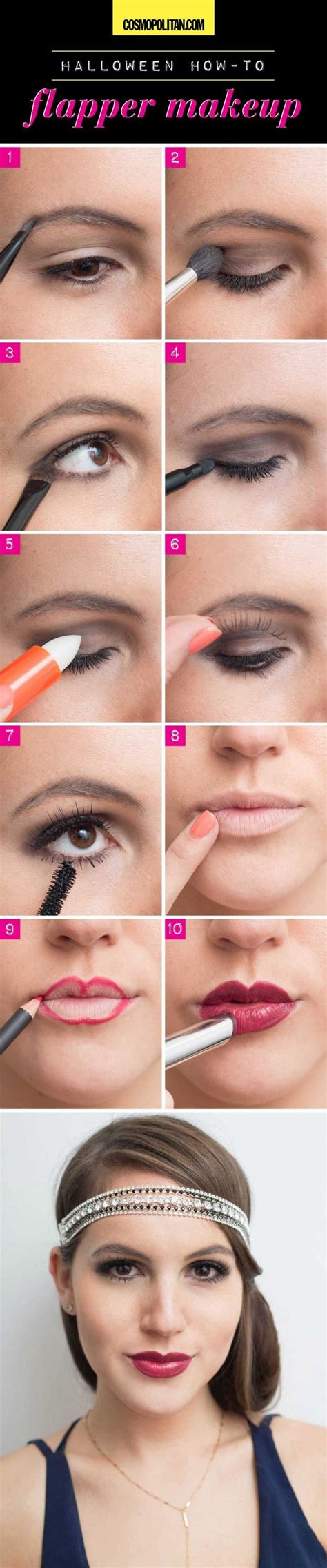 simple charm beauty roaring 20s makeup 81 best images about the roaring twenties diy costume on