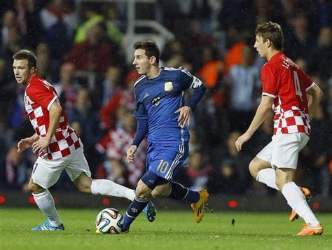 argentina croacia resumen y resultado partido minuto
