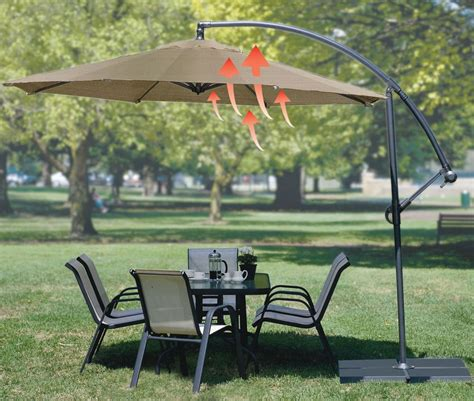 coolaroo 12 foot cantilever patio umbrella icamblog