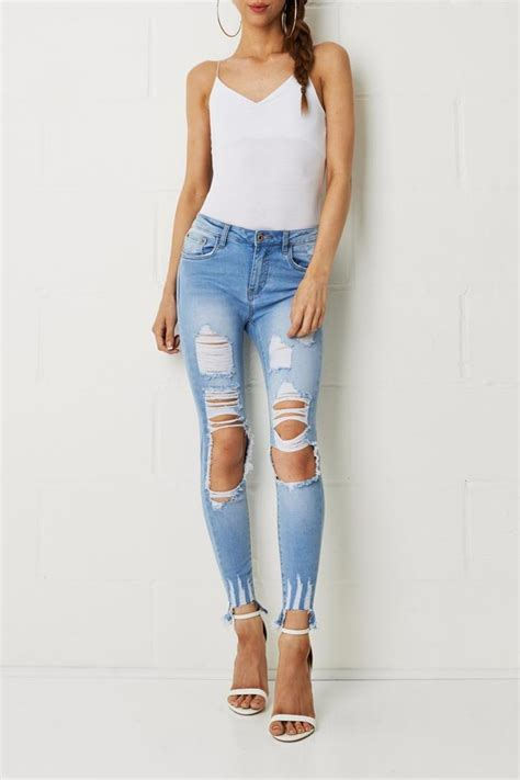 Ripped Denim Import frontrow ripped from essex by frontrow shoptiques
