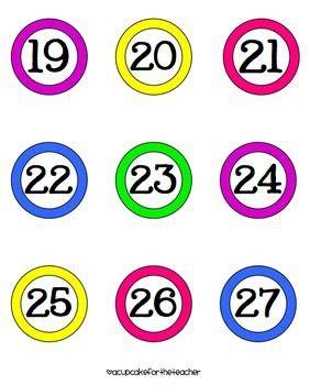 cute printable number cards number cards clipart 53